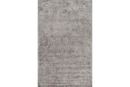 96X120 Rug-Ranura Light Grey