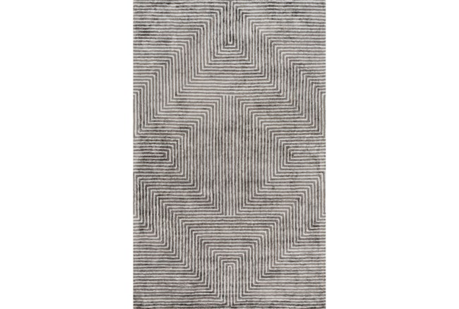 96X120 Rug-Ranura Light Grey - 360