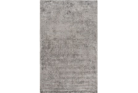 108X156 Rug-Ranura Light Grey