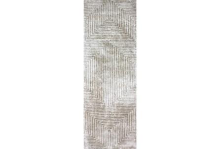 30X120 Rug-Ranura Moss/Beige