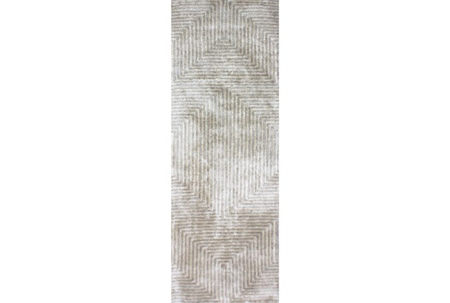 30X120 Rug-Ranura Moss/Beige - 360