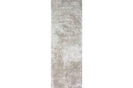 30X96 Rug-Ranura Moss/Beige