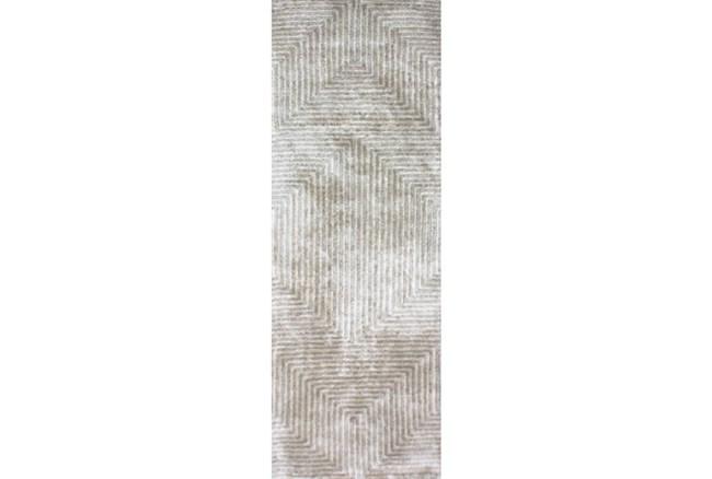 30X96 Rug-Ranura Moss/Beige - 360