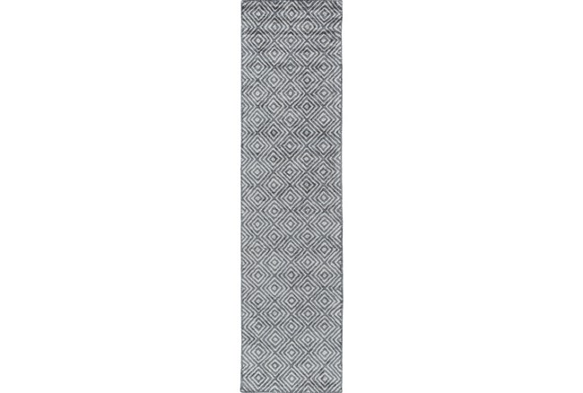30X120 Rug-Baguette Slate - 360