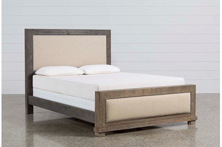 Sinclair Grey California King Panel Bed