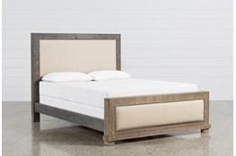 Sinclair Grey Queen Panel Bed