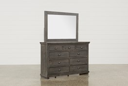 Sinclair Grey Dresser/Mirror