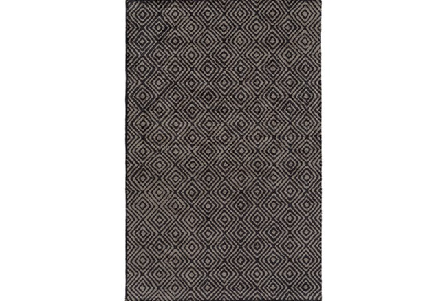 24X36 Rug-Baguette Charcoal - 360