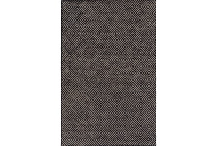 48X72 Rug-Baguette Charcoal