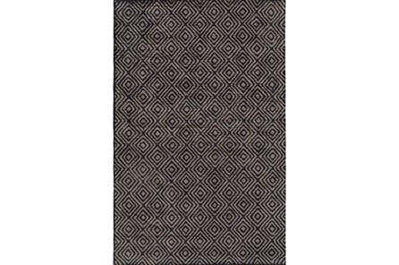 48X72 Rug-Baguette Charcoal - Main