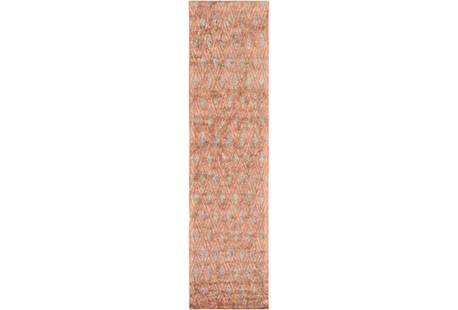 """2'5""""x10' Rug-Marquise Rust - 360"""