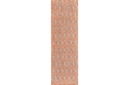 30X96 Rug-Marquise Rust