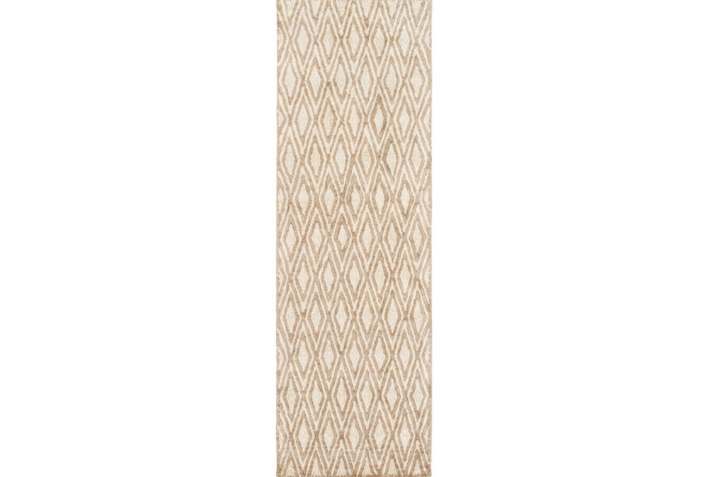 30X96 Rug-Marquise Olive/Ivory