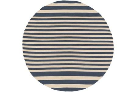 96 Inch Round Rug-Smith Stripe