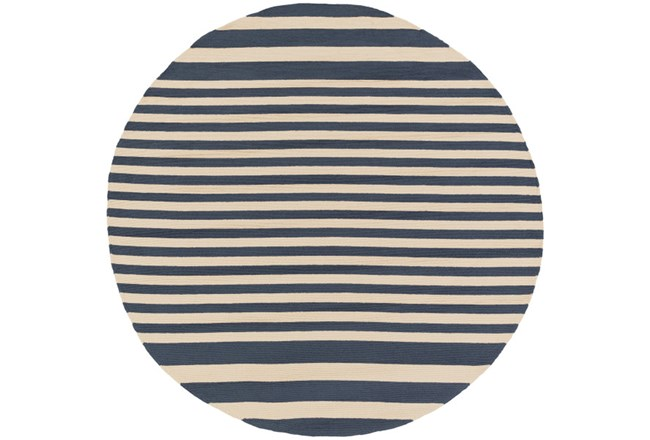 96 Inch Round Rug-Smith Stripe - 360
