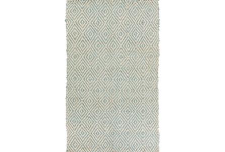 60X96 Rug-Sweetwater Slate/Ivory