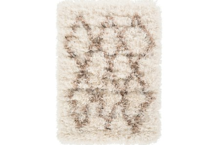24X36 Rug-Faith Shag Ivory - Main