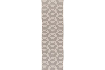 30X96 Rug-Cache Light Grey