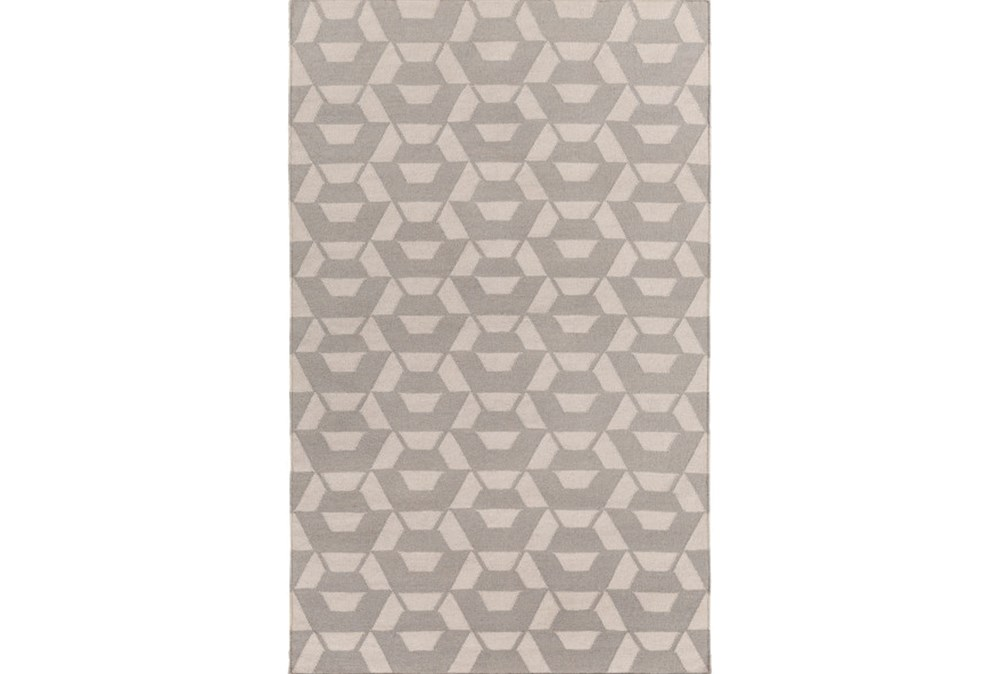 96X120 Rug-Cache Light Grey