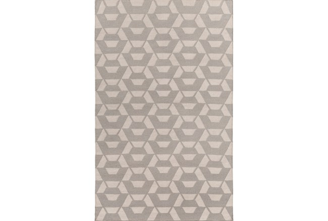 96X120 Rug-Cache Light Grey - 360