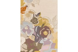 60X96 Rug-Botany Bay Floral Lavender Multi