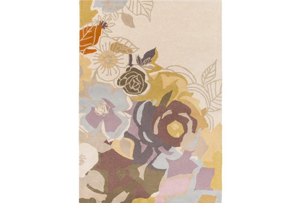 96X132 Rug-Botany Bay Floral Lavender Multi