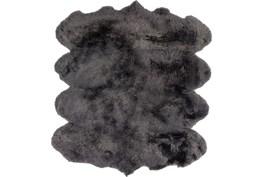 72X96 Rug-Tanza Shag Grey