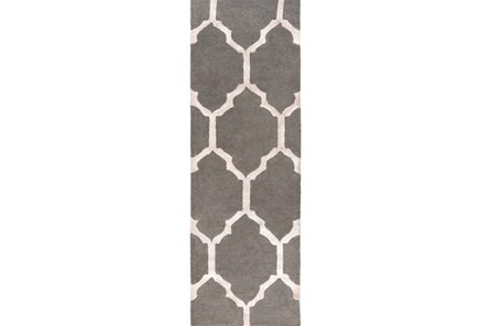 30X96 Rug-Architect Grey