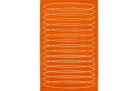 96X120 Rug-Cirque Orange