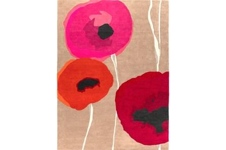 24X36 Rug-Pansy Cherry/Poppy/Pink