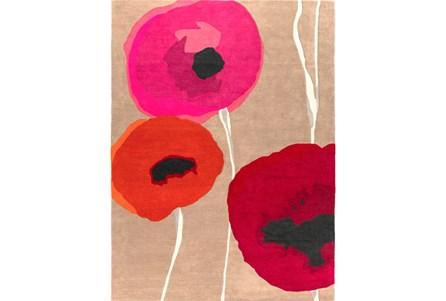 39X63 Rug-Pansy Cherry/Poppy/Pink