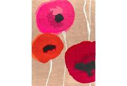 96X132 Rug-Pansy Cherry/Poppy/Pink