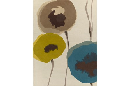24X36 Rug-Pansy Teal/Olive/Taupe