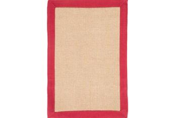2'x3' Rug-Lael Jute Red