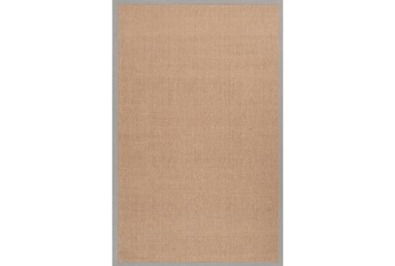 96X120 Rug-Lael Jute Taupe