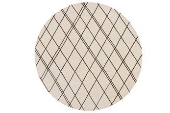 96 Inch Round Rug-Parry Beige