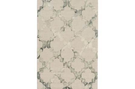 48X72 Rug-Isaiah Light Grey - Main