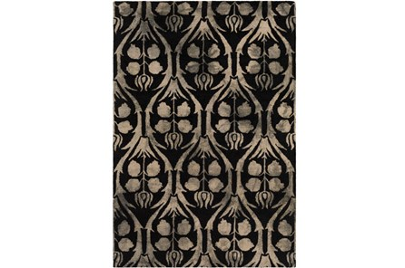 96X120 Rug-Ezekiel Black - Main