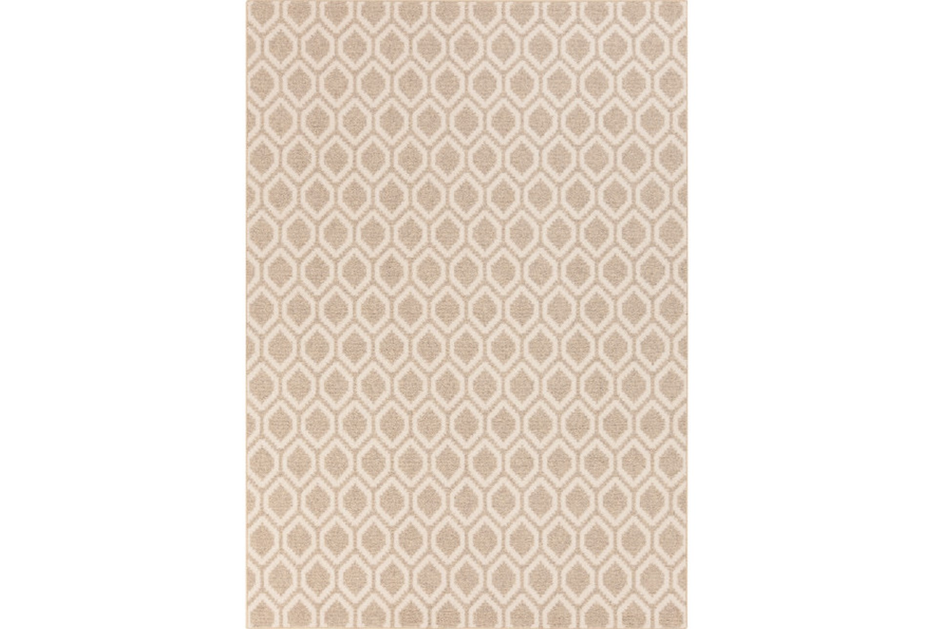 60x96 Rug Gisella Beige Ivory Living Spaces