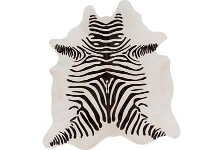 96X96 Square Rug-Hartmann Zebra