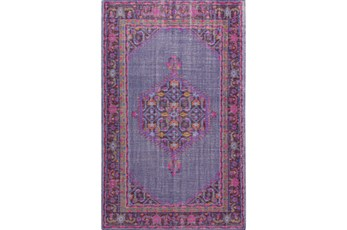 42X66 Rug-Nancy Magenta/Cherry/Chocolate