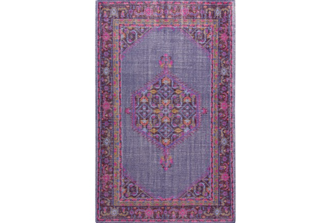 66X102 Rug-Nancy Magenta/Cherry/Chocolate - 360