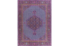 96X132 Rug-Nancy Magenta/Cherry/Chocolate