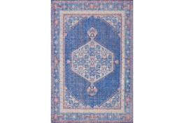 24X36 Rug-Nancy Cobalt/Poppy