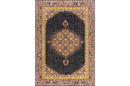 24X36 Rug-Nancy Charcoal/Carnation