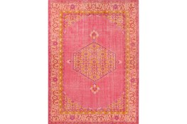 2'x3' Rug-Nancy Hot Pink/Orange