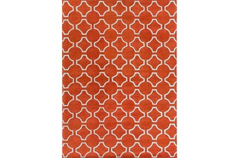 96X132 Rug-Cabot Medallion Orange