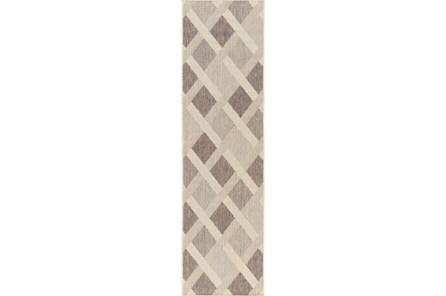 27X93 Rug-Minaret Grey/Ivory - Main