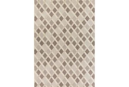 90X129 Rug-Minaret Grey/Ivory