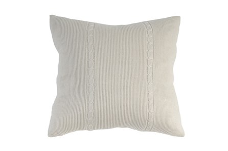 Accent Pillow-Gerard Knit 22X22 - Main